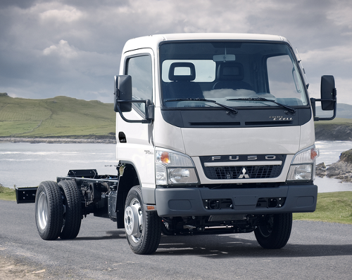Fuso Truck Gets E Cell Treatment Driving To The Future