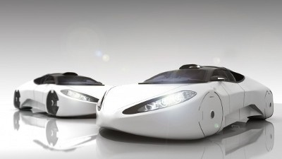 Hovercraft Car Driving To The Future