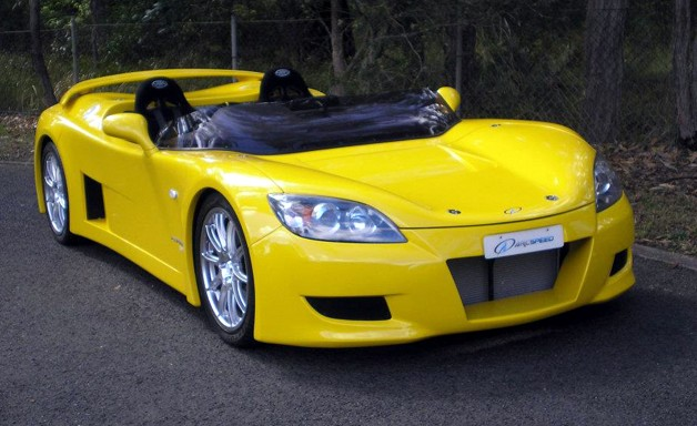 Australian Sports Car Driving To The Future - Sports cars by price