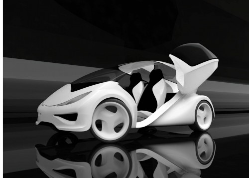 Design Concept Of The Day Zaha Hadid Z Car Driving To